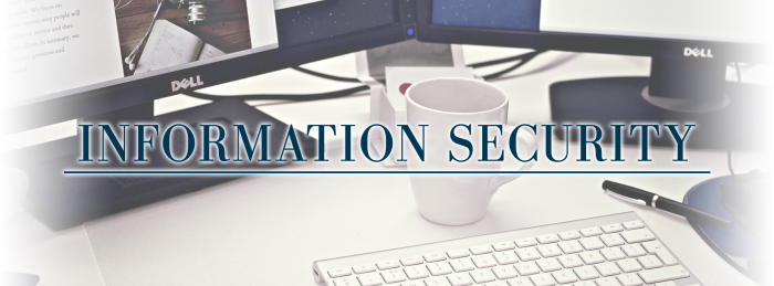 Why information security is so important in business?