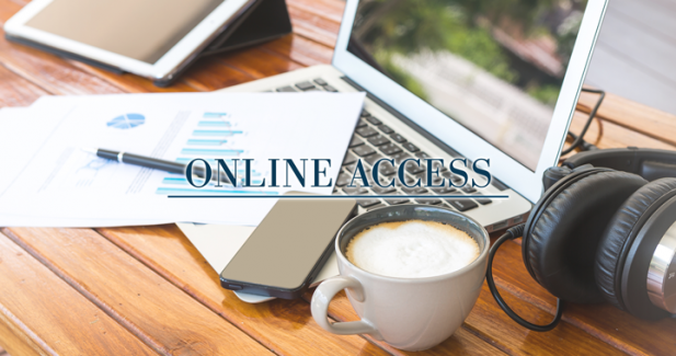 Life becomes easy with online access