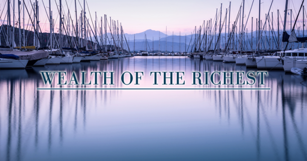 The wealth of the richest 62 people