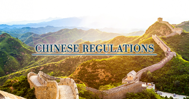 China is fighting for better regulations