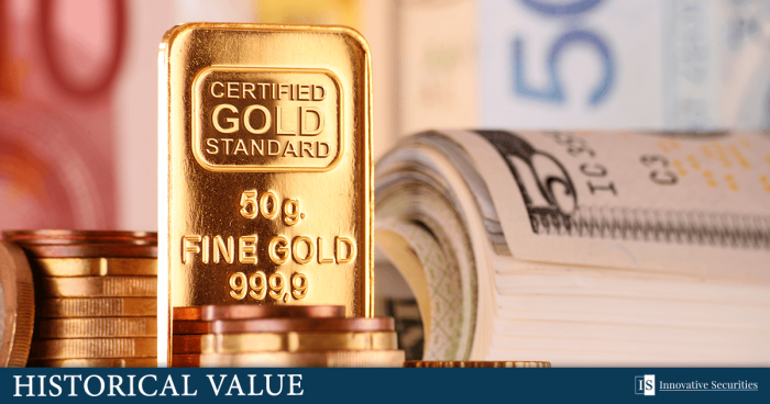 Diversified investments? Gold should have a role in them!